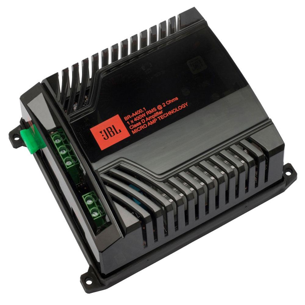 Módulo Amplificador Digital JBL BR-A400.1 - 1x 400W RMS - 2 ohms - JBL BR-A 400.1 (OFERTA+)