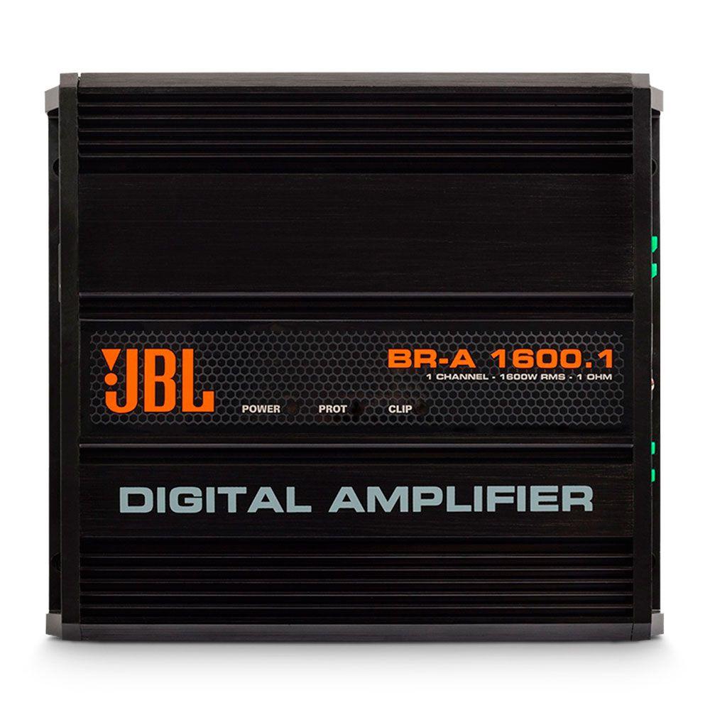Módulo Amplificador Digital JBL BR-A 1600.1 - 1 Ohm - 1600W RMS