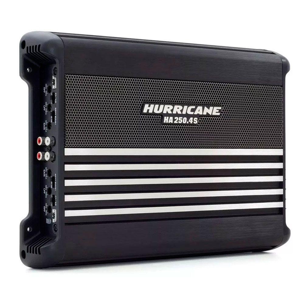 Módulo Amplificador Hurricane HA 250.4S 1000W RMS 2 Ohms