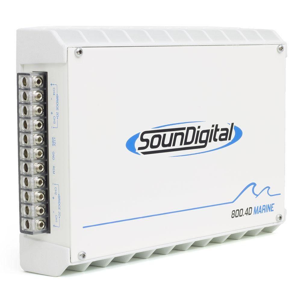 Módulo Amplificador Soundigital SD800.4D Marine-4x200w–4ohms