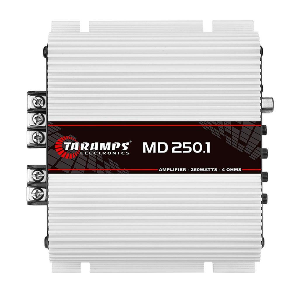 Amplificador Taramps Digital MD 250.1 250W RMS 4 Ohms