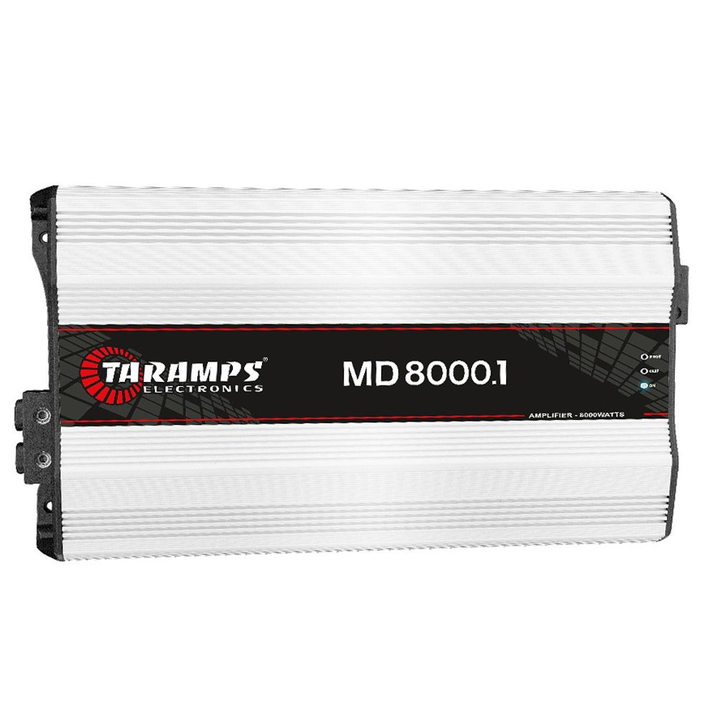 Módulo Amplificador Taramps MD8000.1 8000W RMS Digital 2 Ohms