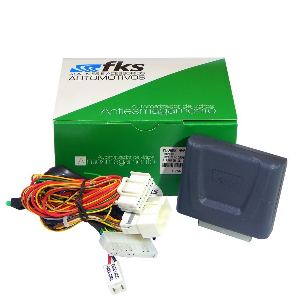 Módulo Dedicado para 2 Vidros Elétricos FKS MLV608 HH02 HB20