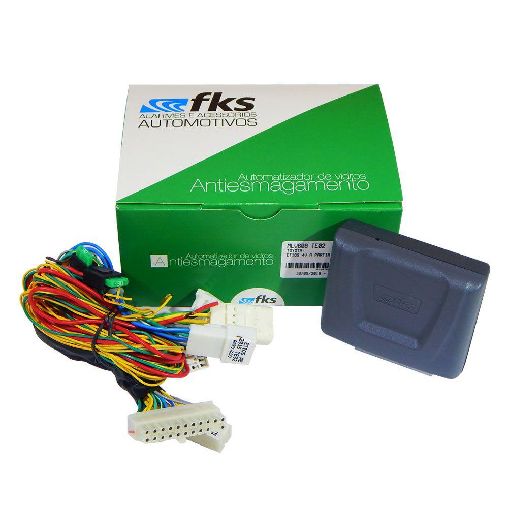 Módulo Dedicado para Vidros Elétricos FKS MLV608 TE02 Etios