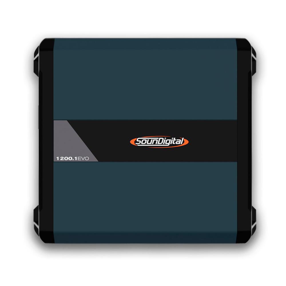 Módulo Soundigital Sd1200.1d Evo4 1200w Rms 2 Ohms