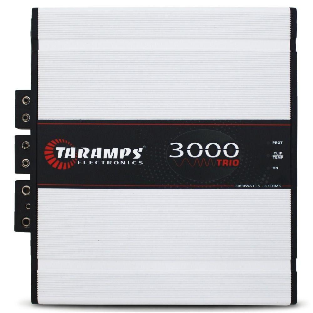 Módulo Taramps 3000 TRIO - 2 OHMS – 3000W RMS