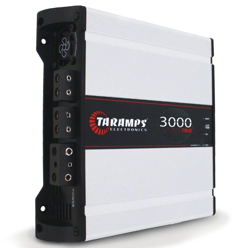 Módulo Taramps 3000 TRIO - 4 OHMS – 3000W RMS