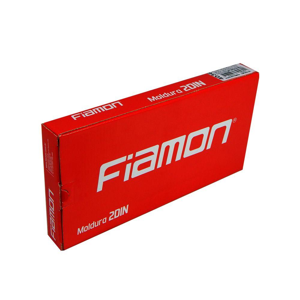 Moldura de Painel Fiamon 2 DIN Duster e Oroch S/ Rádio -18 – Blk Piano