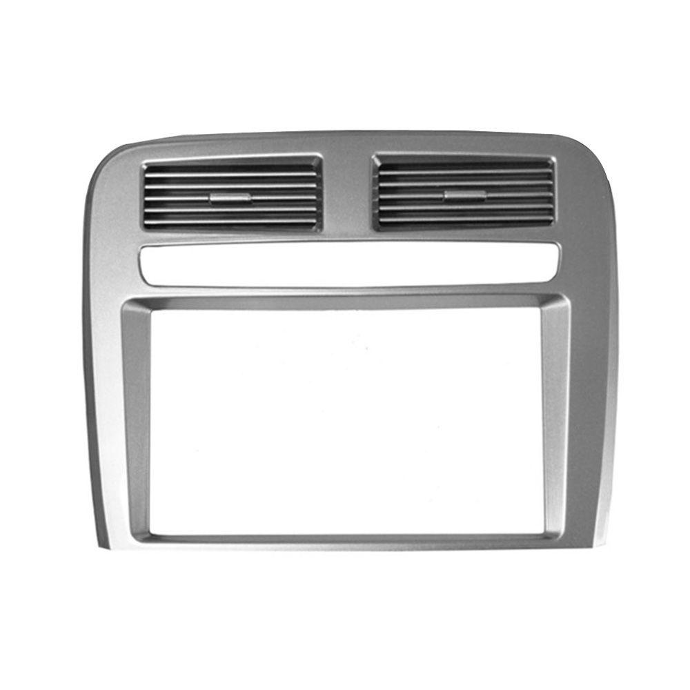 Moldura de Painel Fiamon 2 DIN Fiat Punto - Prata