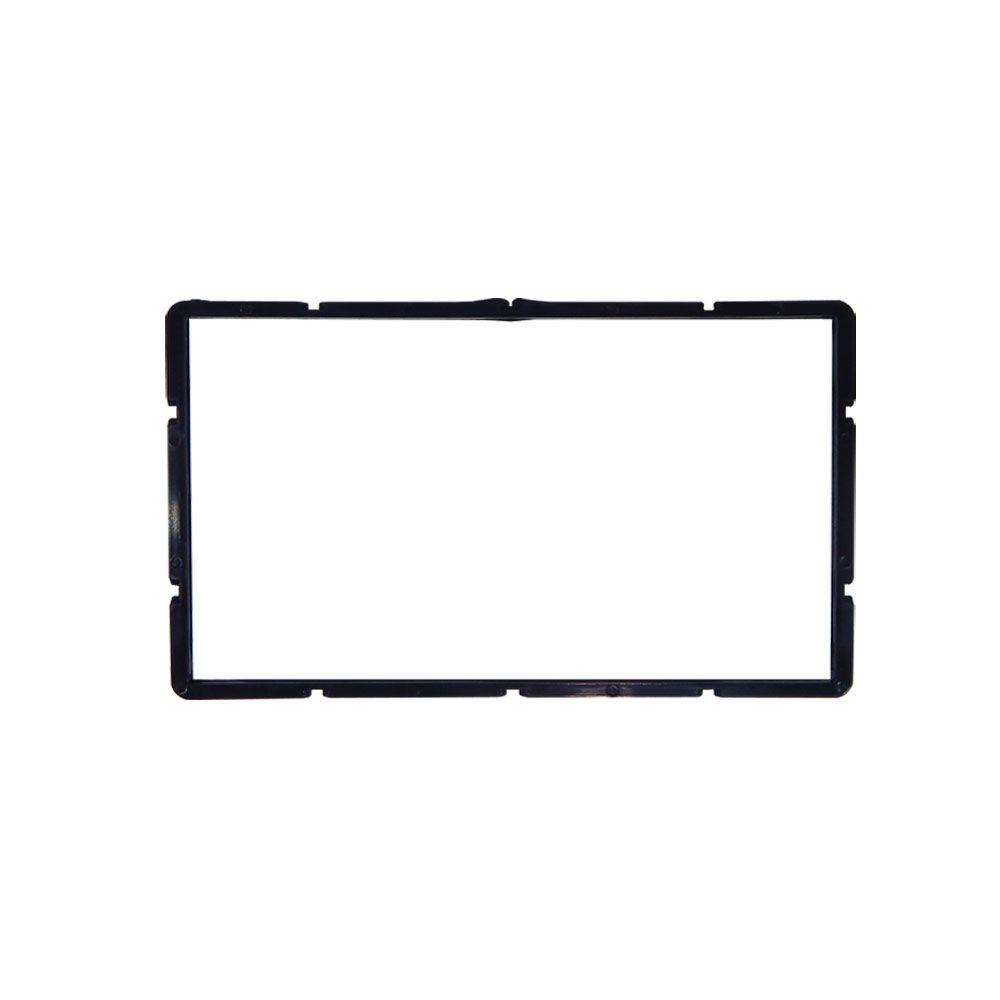 Moldura de Painel Fiamon 2 DIN Saveiro G5 Cross – Preta