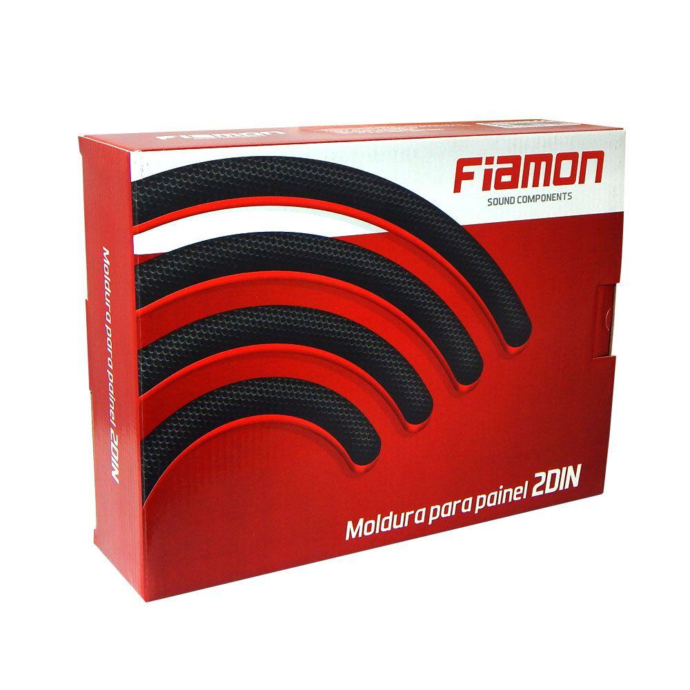 Moldura Fiamon 2 DIN Fiat Mobi – Black Piano