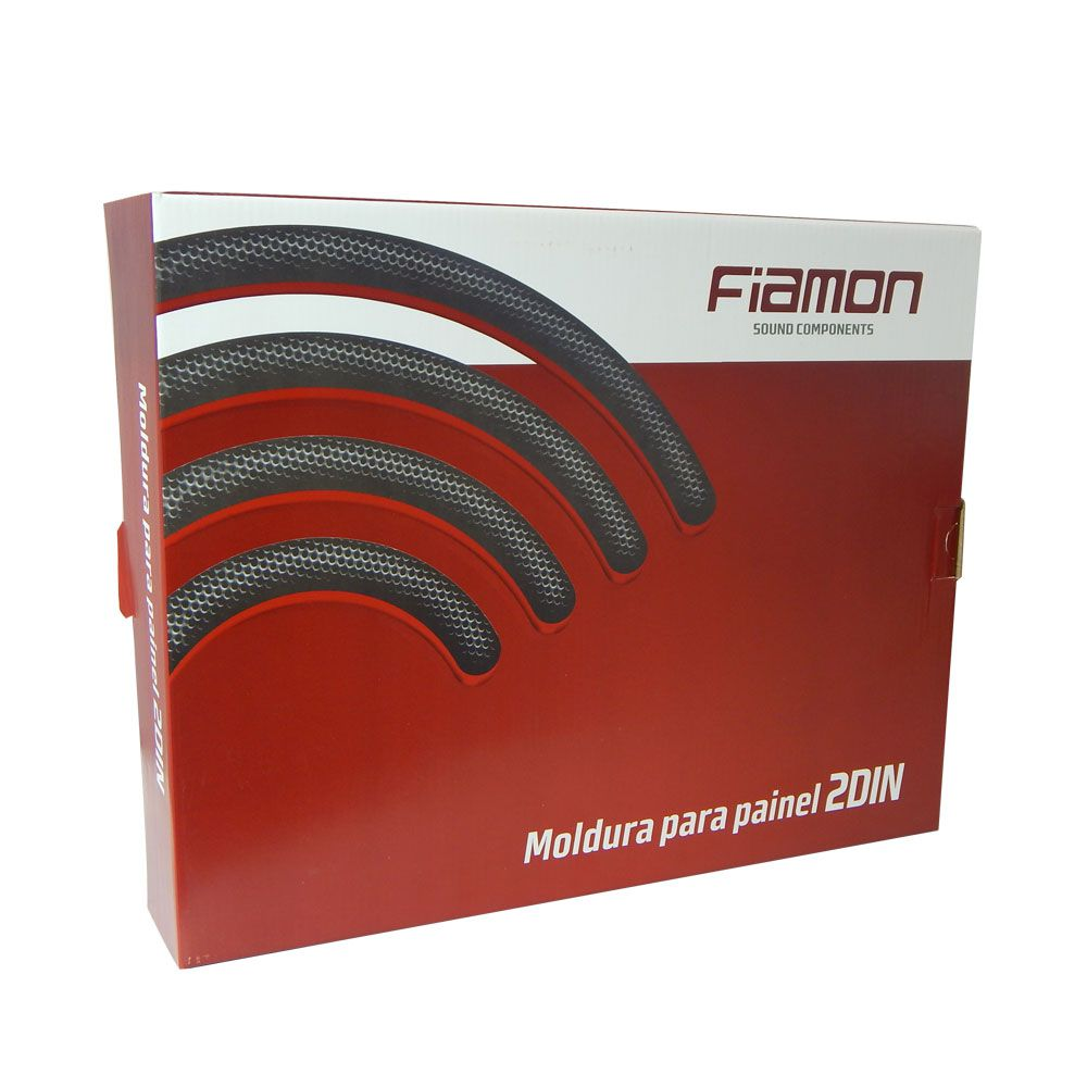 Moldura Fiamon 2 DIN KA+ e Novo Ford KA a partir de 2015 – Prata