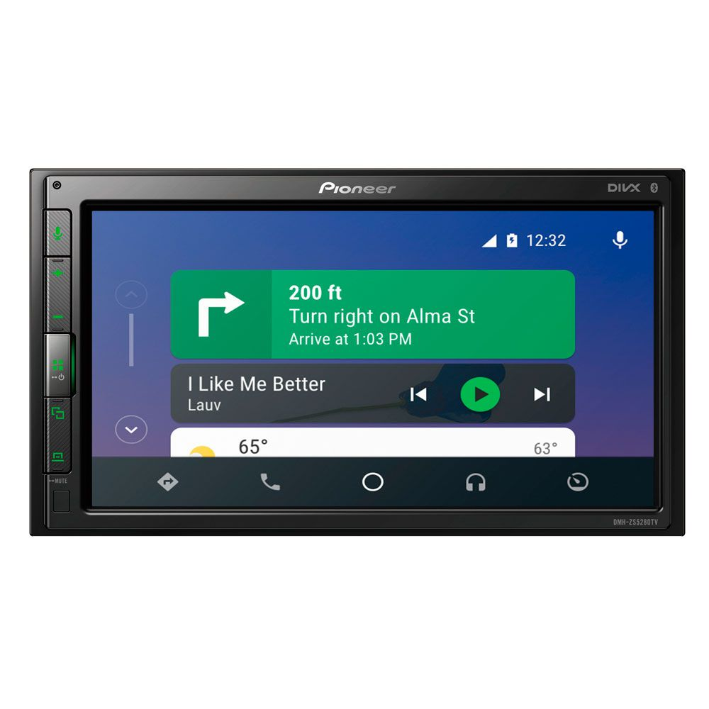 Multimídia Receiver Pioneer DMH-ZS5280TV e Bluetooth 2 DIN
