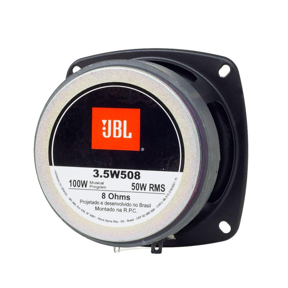 "Par Alto Falante JBL 3.5""Original 3.5w508-100W RMS/par 8Ohms"