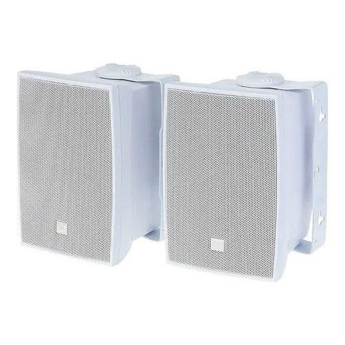 Caixa De Som Acústica Jbl C321b 30w Rms Branca Par 60w