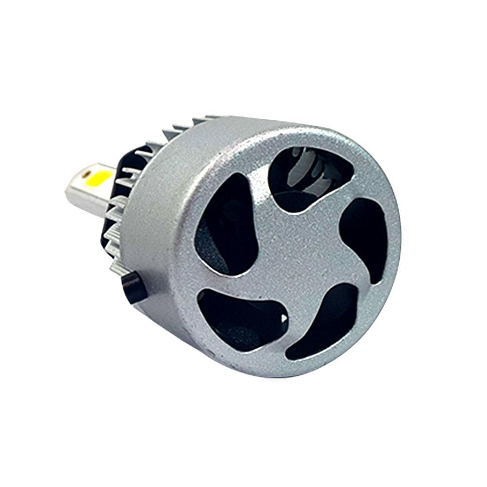 PAR SUPER LED H-TECH FAROL H1 - 8000 LÚMENS - SUPER BRANCO 6500K - 36 WATTS - 9V A 32V -  CÓD. SLH1