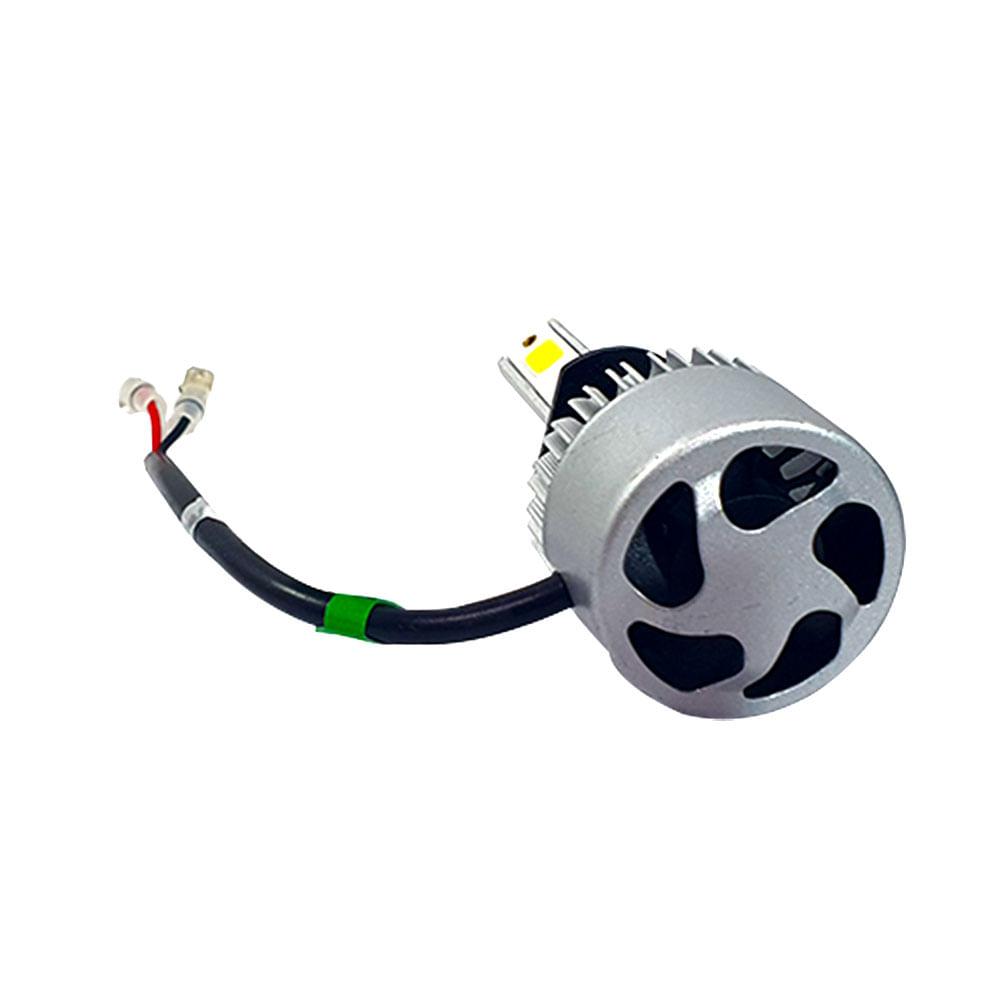 PAR SUPER LED H-TECH FAROL H3 - 8000 LÚMENS - SUPER BRANCO 6500K - 36 WATTS - 9V A 32V -  CÓD. SLH3