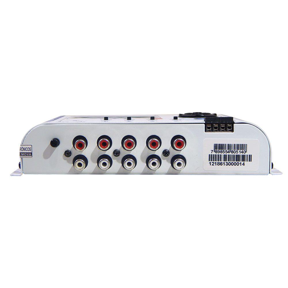 Processador Digital de Áudio JFA J4 Marine - Uso Náutico
