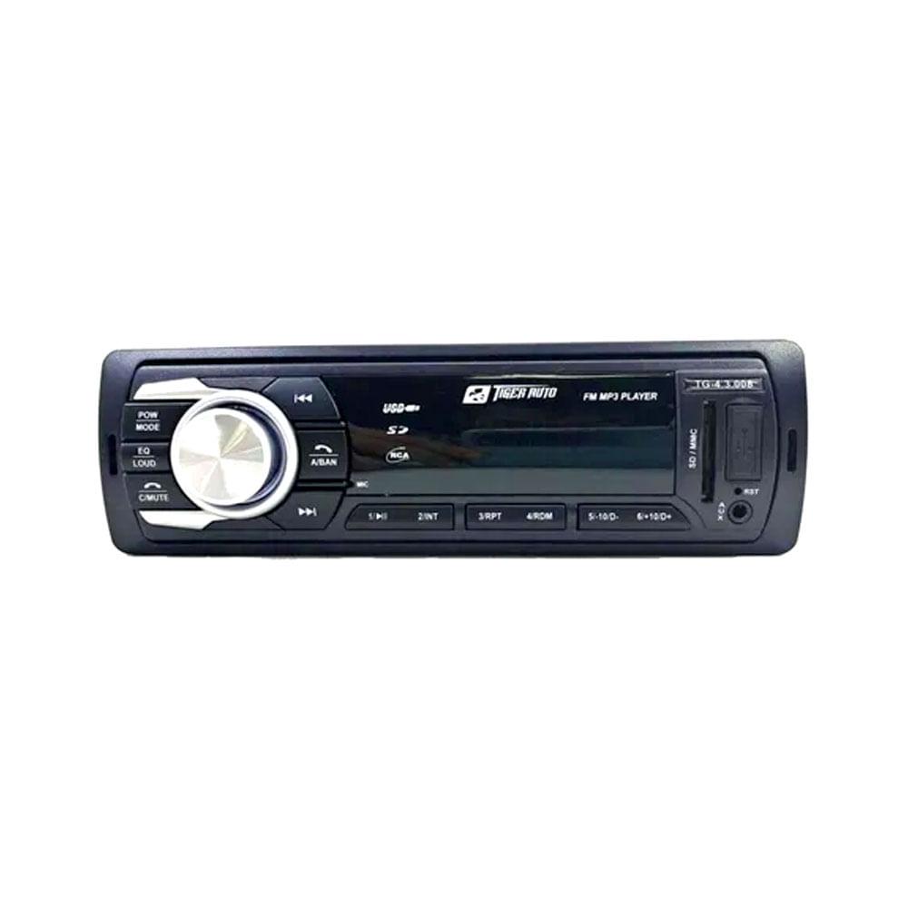RÁDIO MP3 C/ BLUETOOTH TIGER TG-4.3.008 - 4X25W / USB / SD CARD / RCA / AUX. P2 / BLUETOOTH / CONTROLE APP