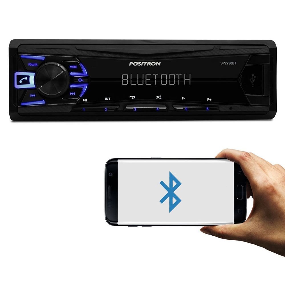 Rádio Player Pósitron SP2230BT com Bluetooth