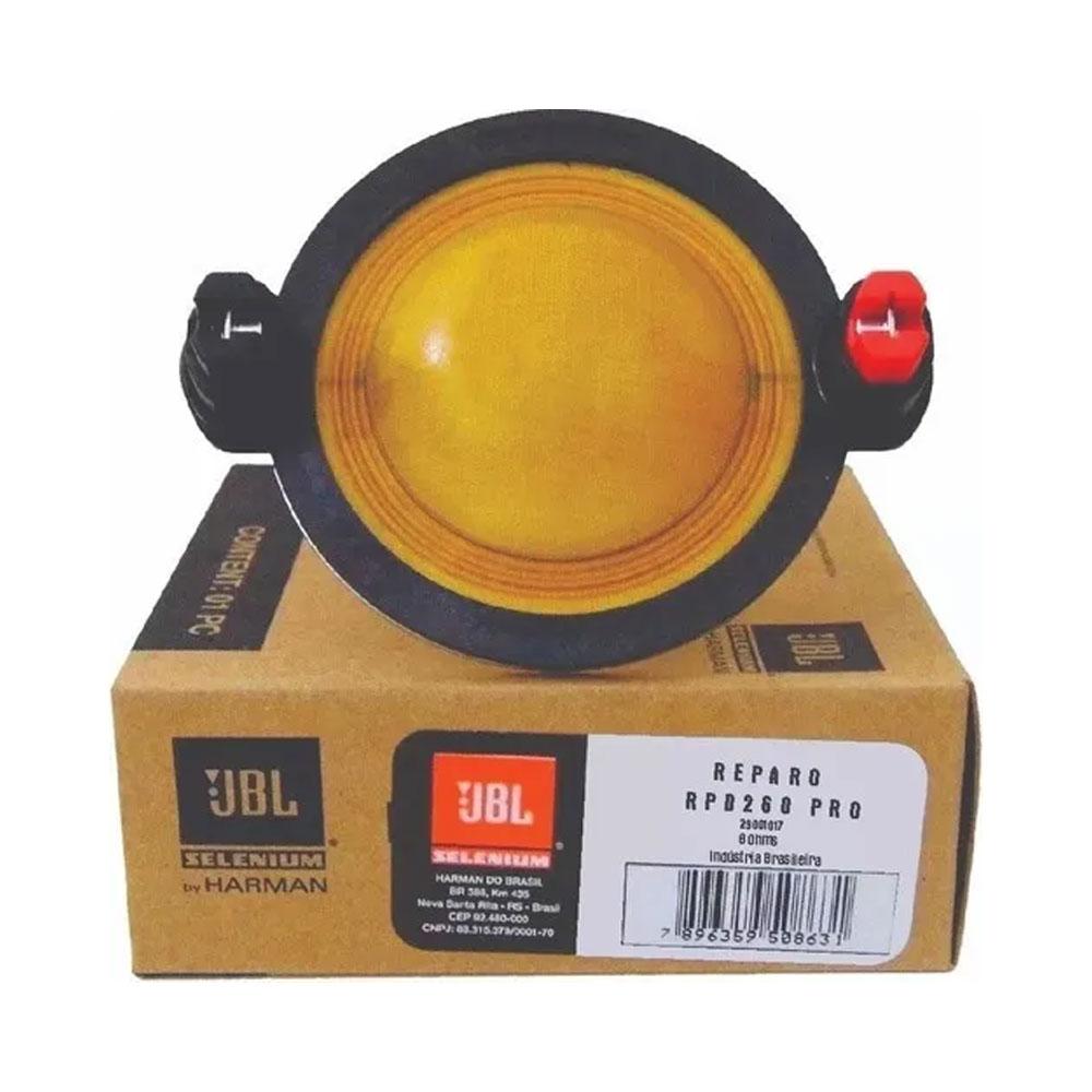 Reparo JBL RPD260 PRO FENÓLICO P/ DRIVER D260 PRO - 150W RMS - 8 Ohms - JBL RPD260 PRO