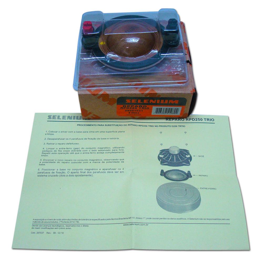 Reparo Original JBL Selenium RPD250 Trio - para D250 Trio - RPD250 TRIO/UTX 300