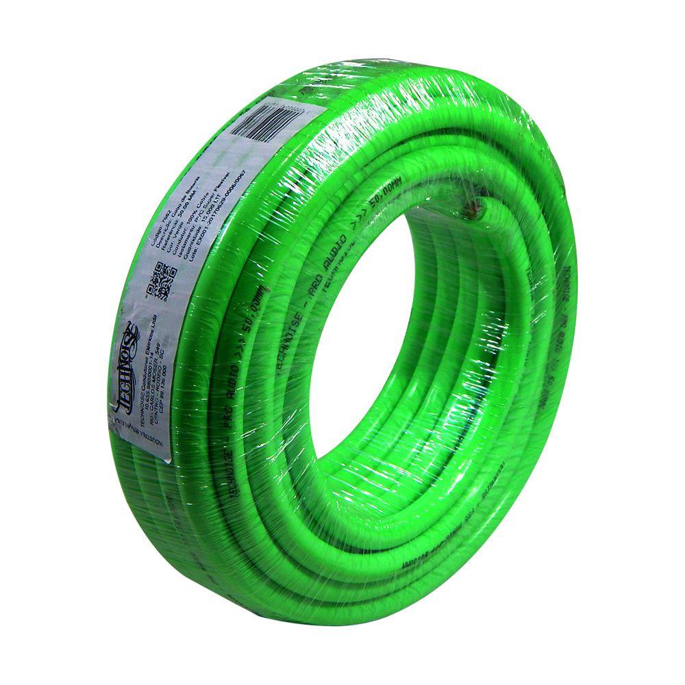 Rolo 15m - Cabo de Alimentação Technoise 50mm² - 100% Cobre – Verde