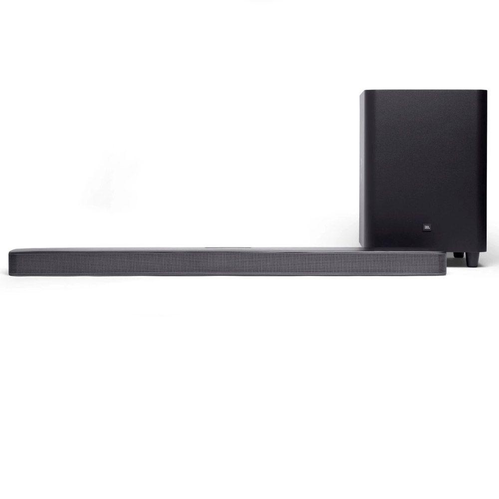 "Soundbar JBL 5.1 Multibean 325W RMS - C/ Subwoofer 10""  Wireless/Bluetooth/Hdmi/4K/Chromecast /Air Play"