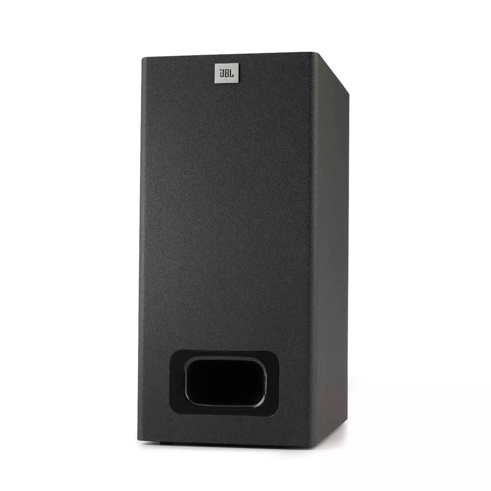 SOUNDBAR JBL CINEMA SB130 BLK SISTEMA 2.1 CANAIS C/ SUBWOOFER EXTERNO/BLUETOOTH/HDMI/DOLBY DIGITAL - JBLSB130BLKBR
