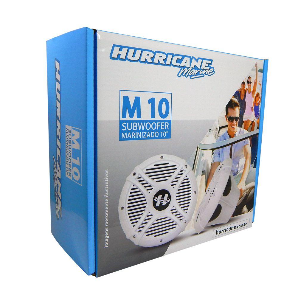 "Subwoofer 10"" Náutico Hurricane M10 Marine 300W"