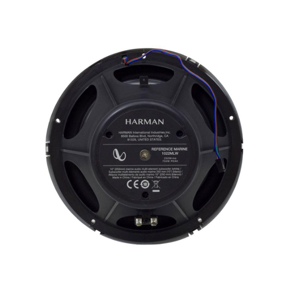 Subwoofer Harman Infinity Reference 10 Marinizado C/ Led Rgb