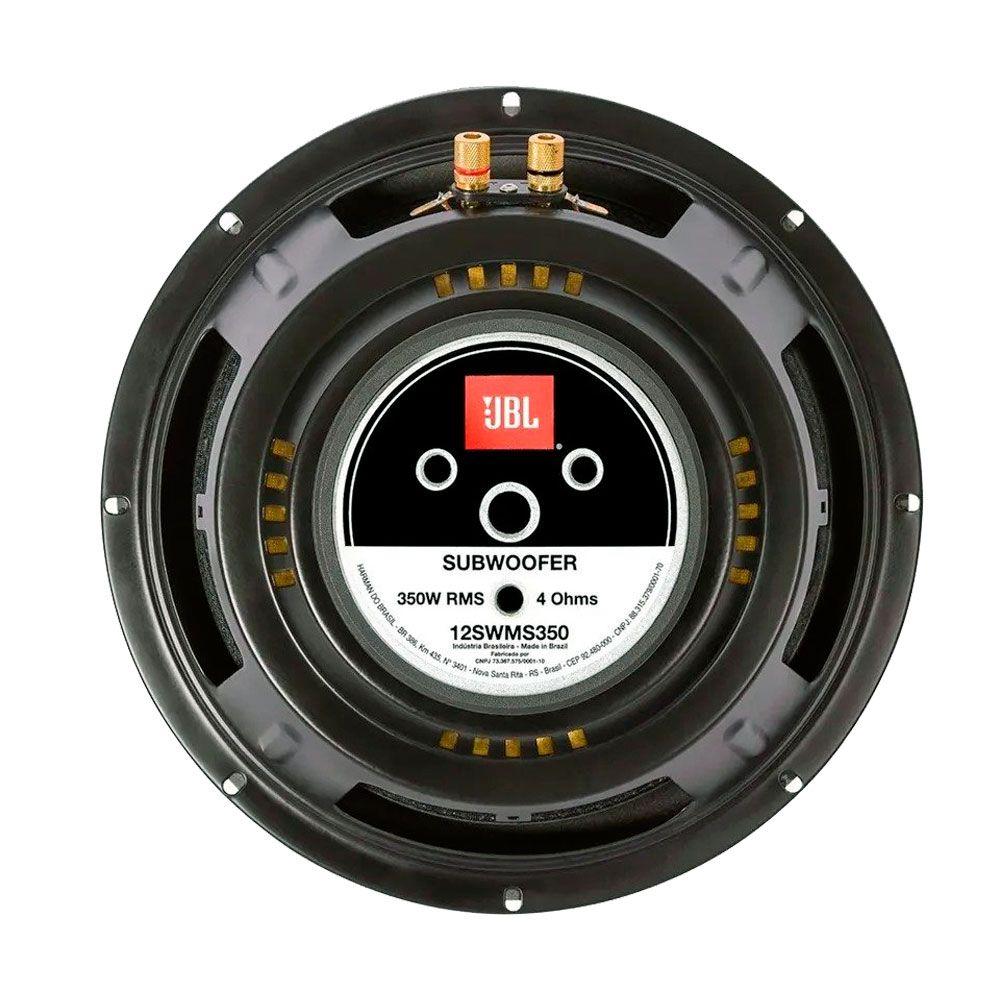 "Subwoofer JBL Multisystem 12"" 350W Rms - 12SWMS350 - 4 Ohms"