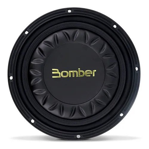 Subwoofer Slim 8 Polegadas Bomber High Power 300w