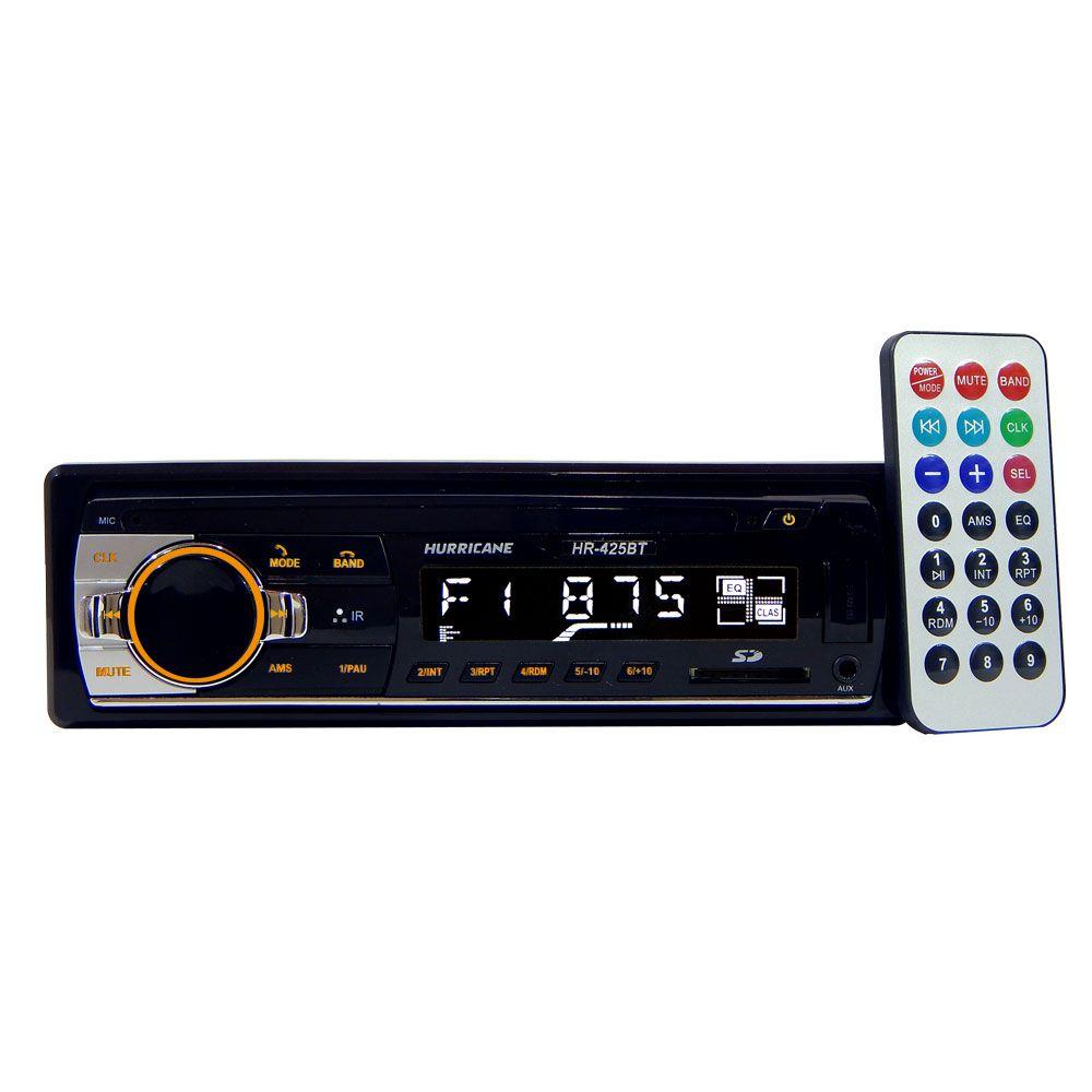 "Super Kit Gold Hurricane Rádio Hr-425 BT + 4 Falantes 6"" i6"
