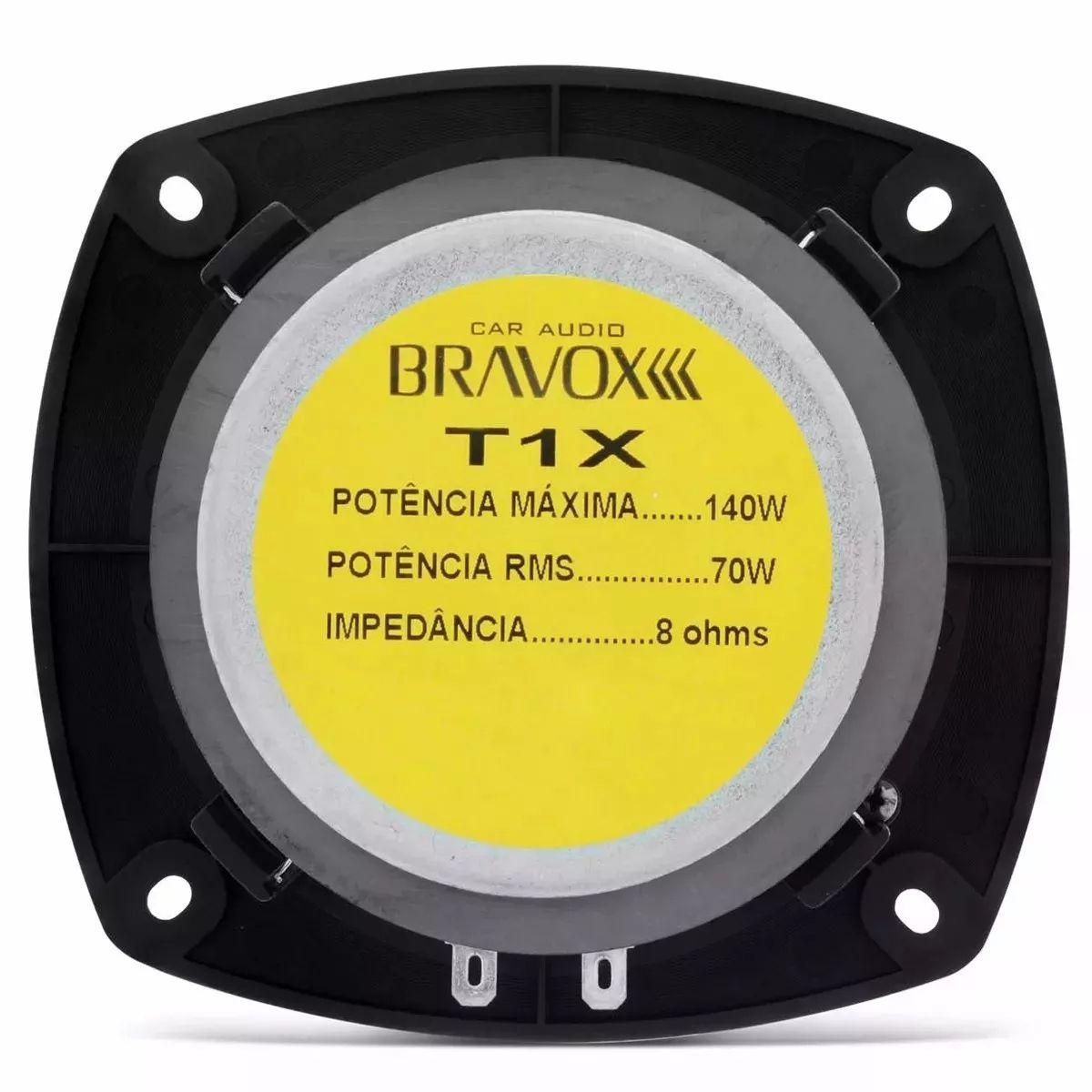 Super Tweeter Bravox T1X - 70W RMS - 8 ohms para Caixa Trio