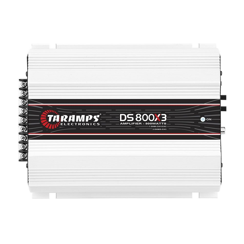 Taramps Ds800x3 / Ds800 Digital 800w Rms 3 Canais - 2 Ohms