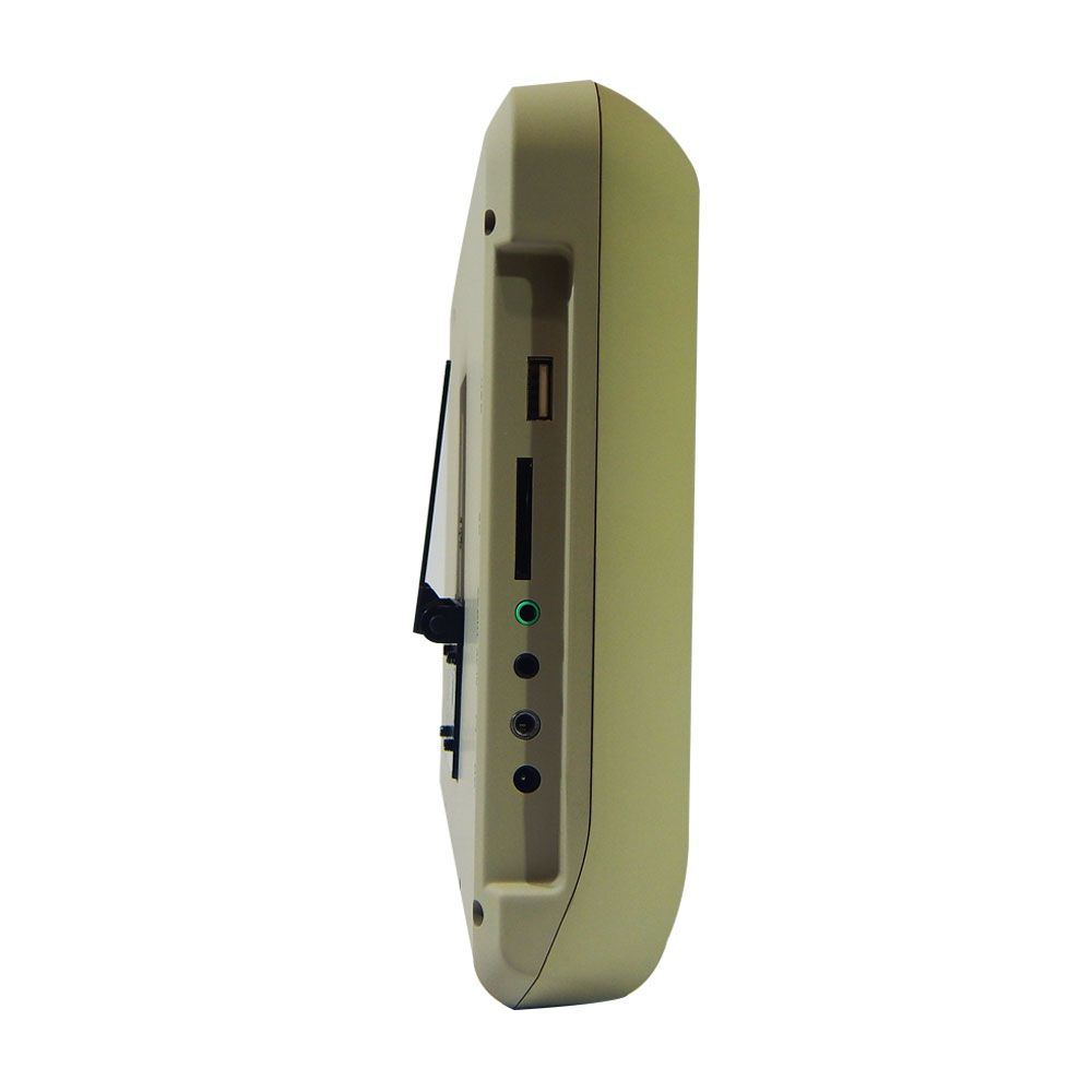 "Tela DVD 9"" Techone de Acoplar Touch screen USB SD - Bege"