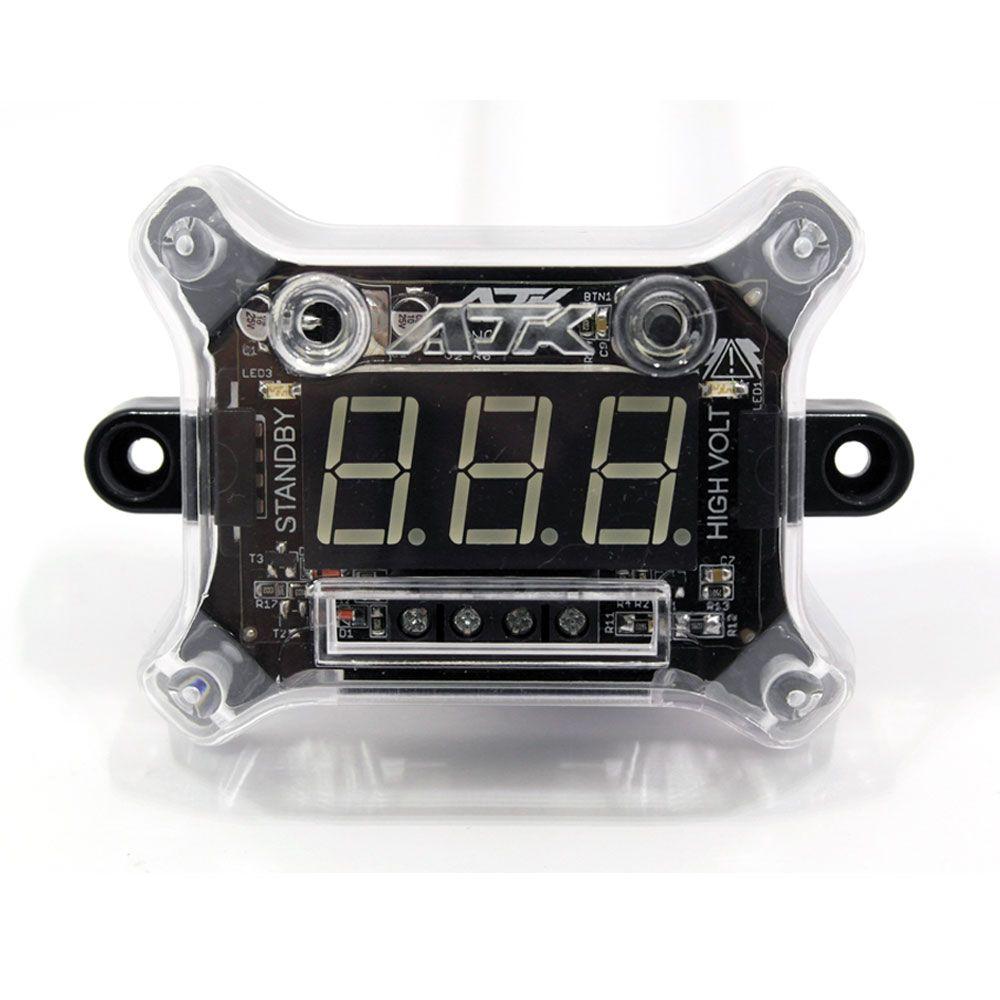 Voltímetro Digital AJK Nano Plus+ 12v e HV com Remote