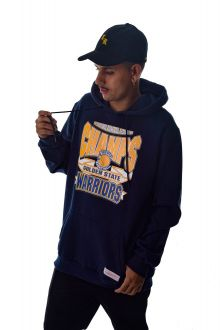 Blusa Moletom Golden State Warriors NBA Mitchell & Ness