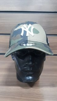 Boné Camuflado Tela Snepback New York Yankees MLB New Era
