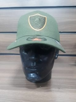 Boné Raiders Verde Aba Curva  New Era