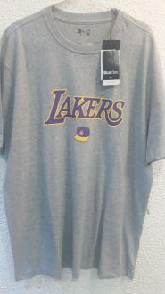 Camiseta Extra Lakers Plus Size C New Era