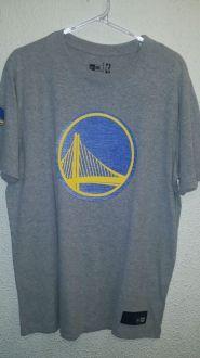 Camiseta Golden State NBA Denim Logo New Era