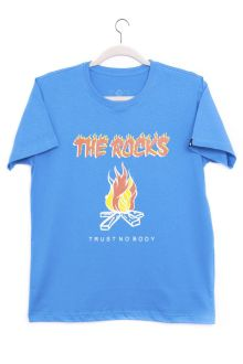 Camiseta Manga Curta Fogo The Rocks