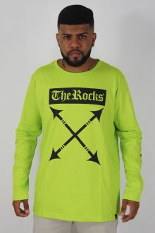 Camiseta Manga Longa Lança The Rocks