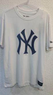 Camiseta New York Yankees Denim Logo New Era