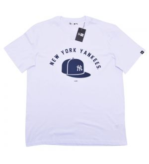 Camiseta New York Yankees Essentials Cap MLB New Era