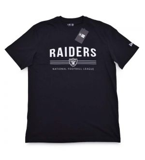 Camiseta Oakland Raiders Essentials Stripes NFL New Era