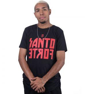 Camiseta Jota k Longline Santo Forte