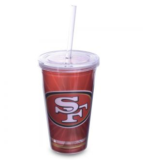 Copo NFL 49ERS Plastico